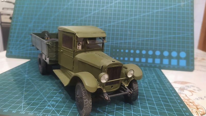 Бумажная модель ЗиС-5_1