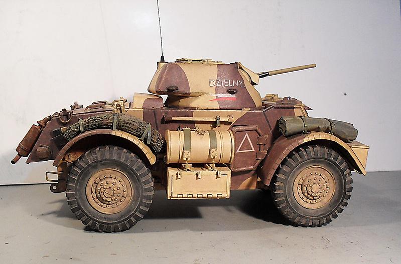 Бронеавтомобиль Staghound Mk 1, Modelik_3