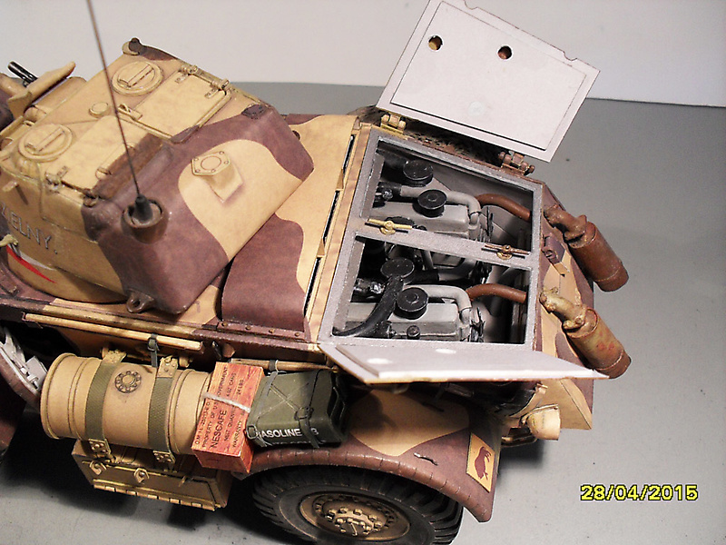 Бронеавтомобиль Staghound Mk 1, Modelik_5