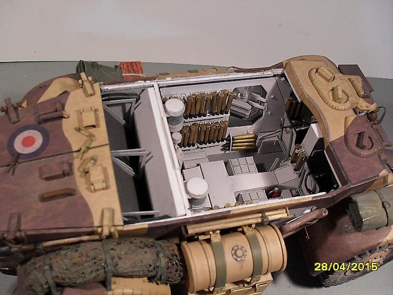 Бронеавтомобиль Staghound Mk 1, Modelik_6