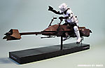 Scout Trooper on Z-74 Speeder bike :: Speeder 1_1