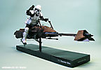 Scout Trooper on Z-74 Speeder bike :: Speeder 1_4