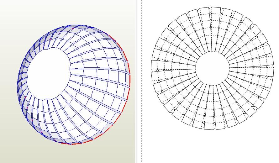 Как сделать фигуру шара из бумаги